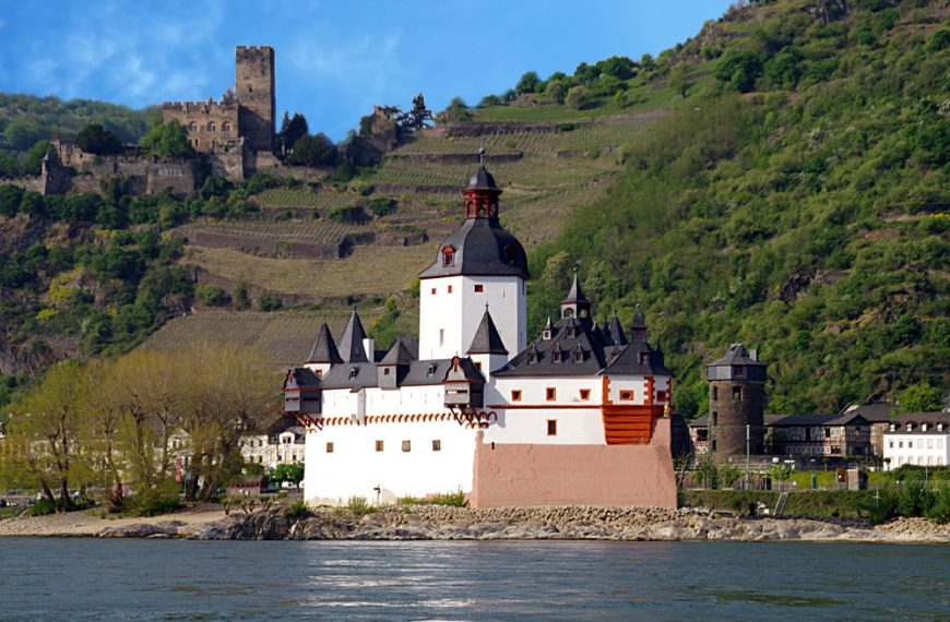 Kaub – Auf der Zollburg im Rhein