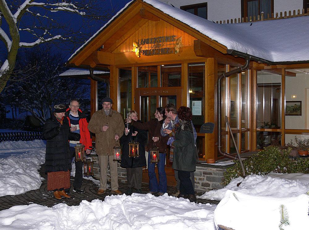 Nachtwanderung auf den Rheinhöhen