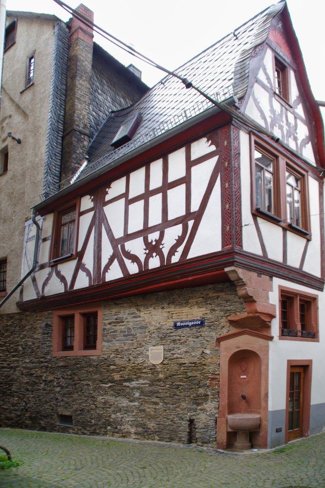 Fachwerkhaus in der Metzgergasse