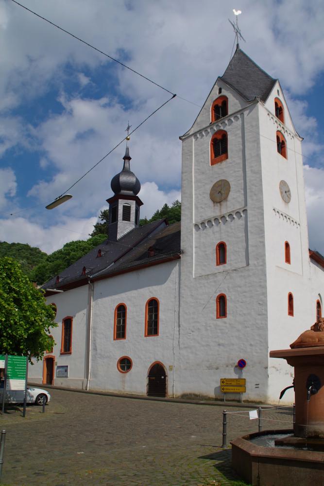 Die Kirchen in Kaub